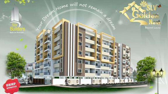 SLV Golden Nest Apartment. Mariyappanapalya